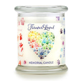 Furever Loved Memorial Pet House Candle