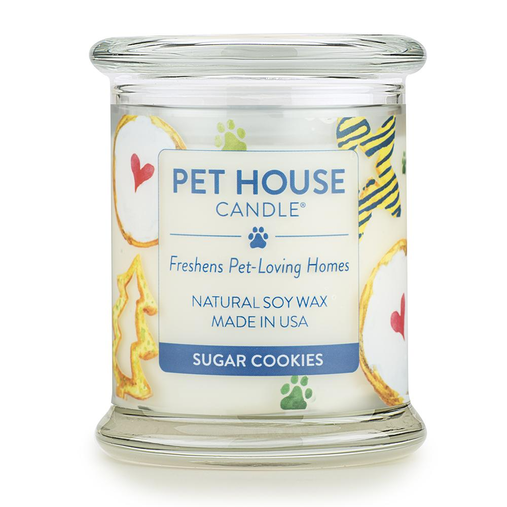 Sugar Cookies Pet House Candle