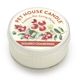 Sugared Cranberries Mini Pet House Candle
