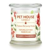 Sugared Cranberries Pet House Candle