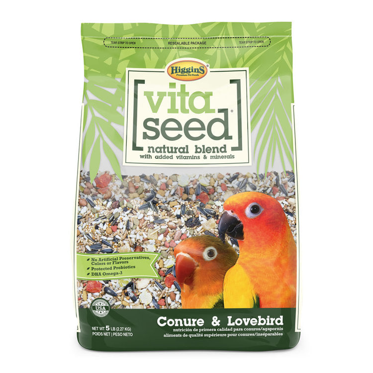 Vita Conure & Lovebird Seed With Sunflower
