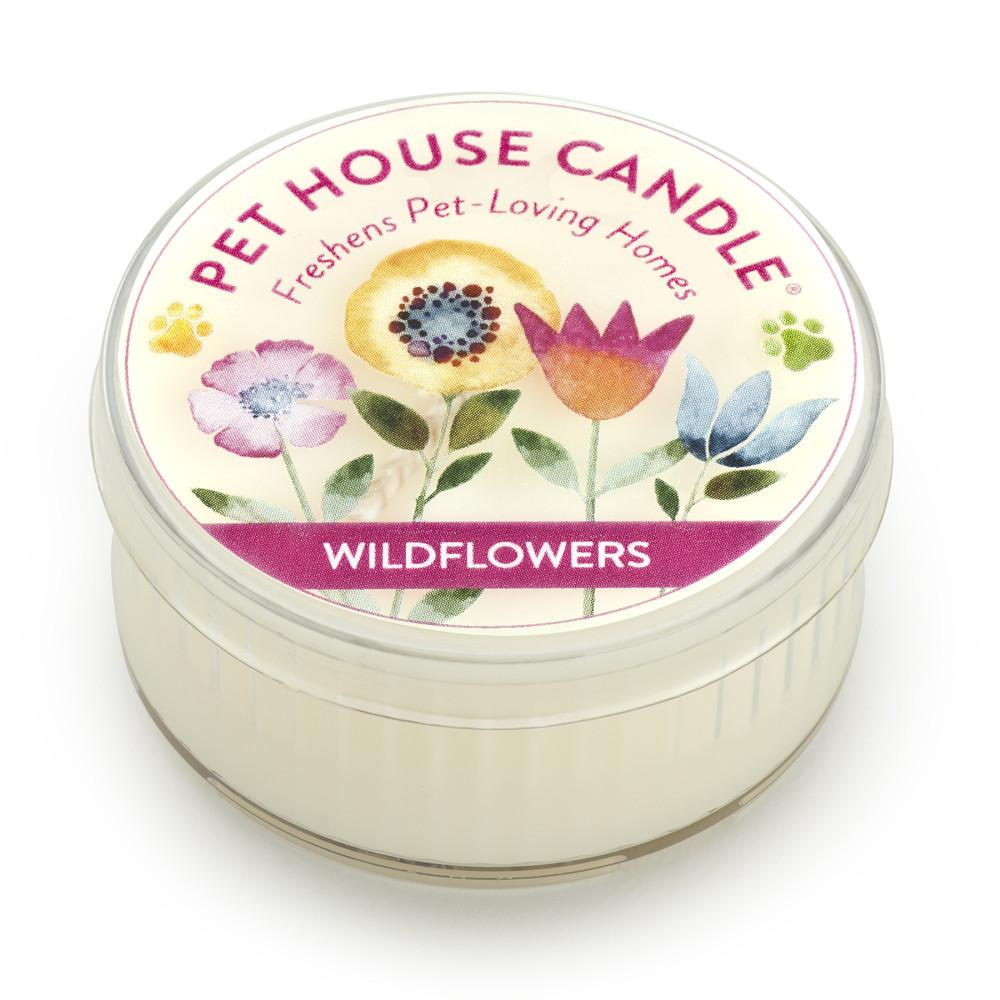 Wildflowers Mini Pet House Candle
