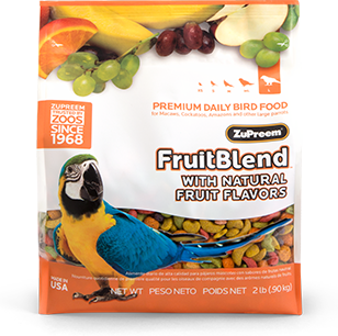 Zupreem Fruit Blend for  Large Parrots