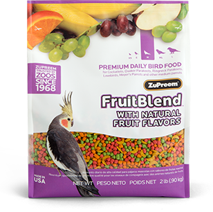 Zupreem Fruit Blend for Medium Birds