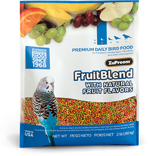 Zupreem Fruit Blend for  Small birds
