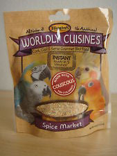 Higgins Worldly Cuisines Cooked Foods for All Birds