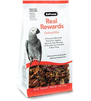 Zupreem Real Rewards Orchard Mix Large Bird Treats 6 oz