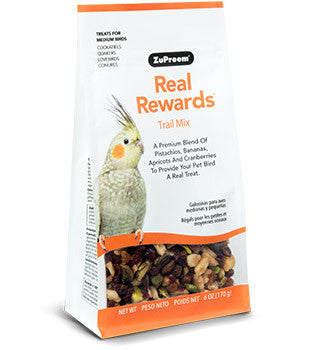 Zupreem Real Rewards Trail Mix Medium Bird Treats 6 oz