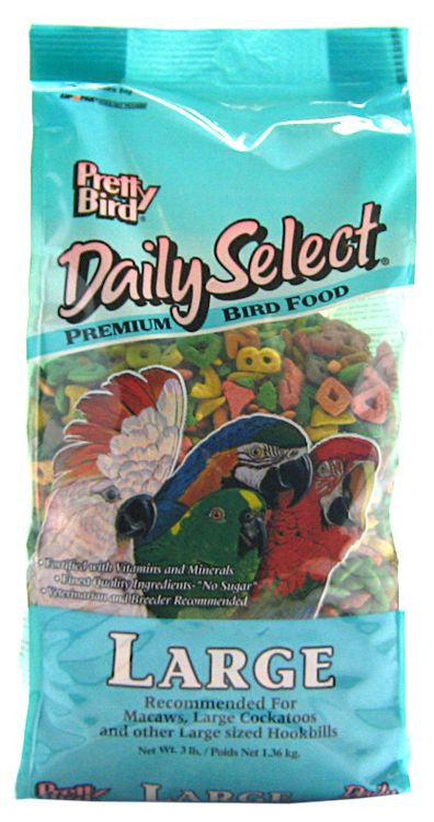 Pretty Bird Daily Select Large Pellets