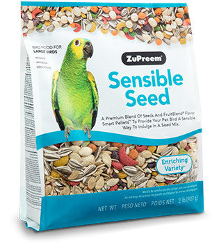 Zupreem Sensible Seed Bird Food for Large Birds 2 lb