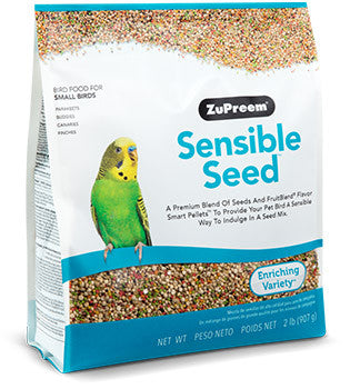 Zupreem Sensible Seed Bird Food for Small Birds 2 lb