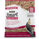 Smart Selects for Cockatiels and Lovebirds