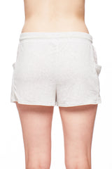 Short with Allover Lace Insert