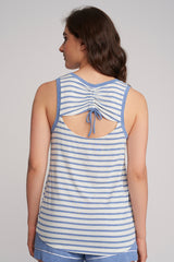 Tank Top With Shirring At Back