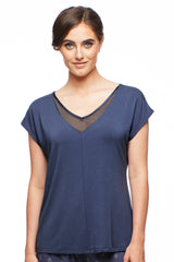Park Avenue Short-Sleeve Top