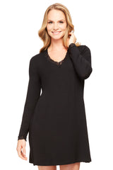 Long-Sleeve Night Shirt