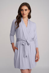 Robe with Silk Ties