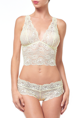 Lacy Dainties Lace Half Camisole