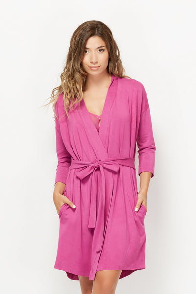 Drop Shoulder Robe