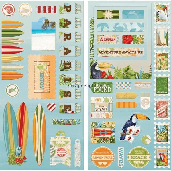 Beach Therapy Chipboard - Shop and Crop Scrapbooking