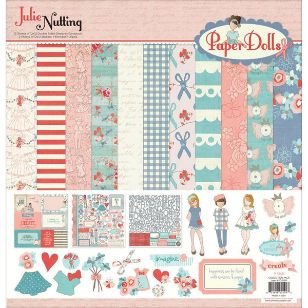 Photo Play Paper Dolls Collection Pack - Shop and Crop Scrapbooking
