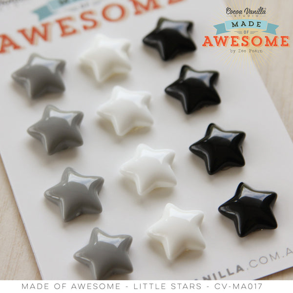 MADE OF AWESOME LITTLE STARS - Shop and Crop Scrapbooking
