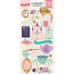 Once Upon A Time Princess 6x13 Chipboard - Foil
