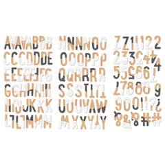 Fancy Pants Designs Life Is Beautiful Chipboard Alphabets