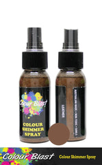 Colour Blast Shimmer Spray - Leather