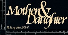 Mother & Daughter Da0039 - Shop and Crop Scrapbooking