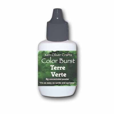 Color Burst Powder - Terre Verte - Shop and Crop Scrapbooking