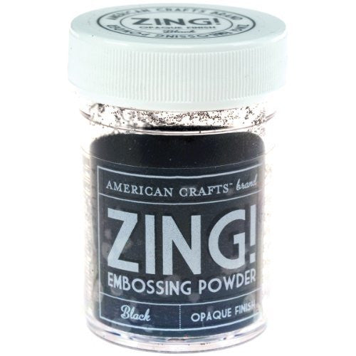Zing Embossing Poder - Opaque Finish - Shop and Crop Scrapbooking