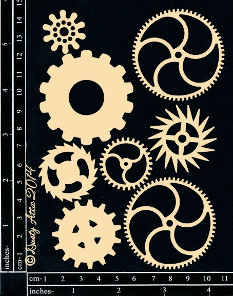 Cogs#1 - Shop and Crop Scrapbooking
