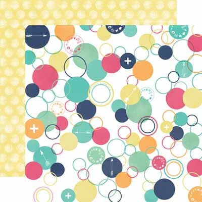 Circles Paper- Creative Agenda - Shop and Crop Scrapbooking