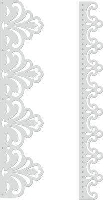 Decorative Die CC Borders - Shop and Crop Scrapbooking