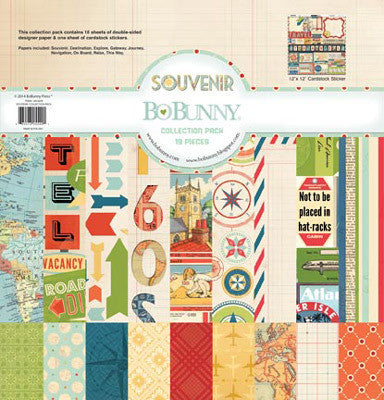 Souvenir Collection Pack - Shop and Crop Scrapbooking