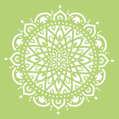 Kaisercraft 12x12 Designer Template Mandala - Shop and Crop Scrapbooking