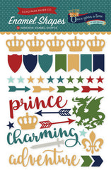 Echo Park Once Upon A Time Prince Enamel Shapes
