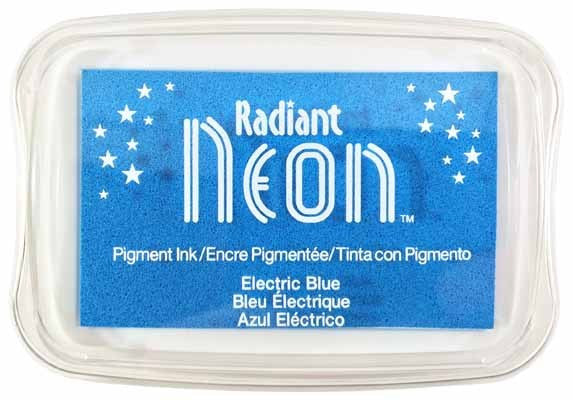 Radiant Neon-Electric Blue - Shop and Crop Scrapbooking