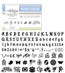 Sizzix Eclips - Decorate your Life Shapes & Alphabet