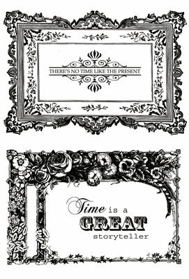 Miss Empire Clear Stamps - Frames CS105 - Shop and Crop Scrapbooking