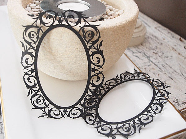 Ornate frames REGENCY BLACK