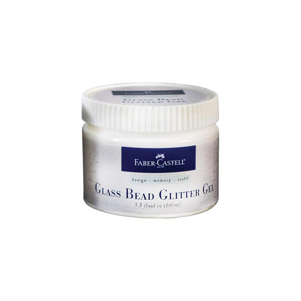 Glass Bead Glitter Gel 100ml - Shop and Crop Scrapbooking
