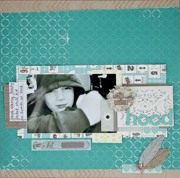 March 2013 Cropaholic Kit - Shop and Crop Scrapbooking  - 1