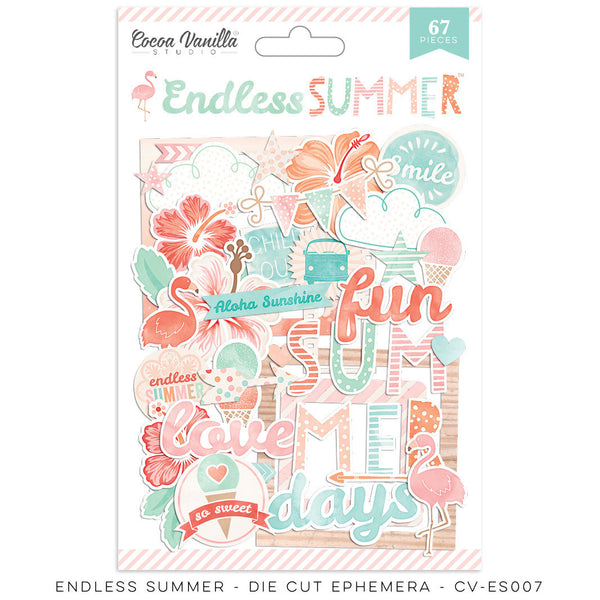 "Endless Summer ""Die Cut Ephemera"" - Shop and Crop Scrapbooking"