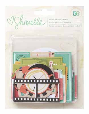 Shimelle - Ephemera (56 Piece) - Shop and Crop Scrapbooking