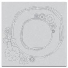6x6 Messy Cog Frames - Shop and Crop Scrapbooking