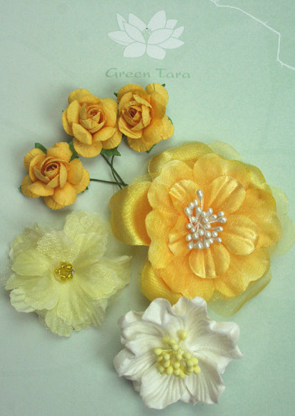 Sunshine Flower Pack - Shop and Crop Scrapbooking