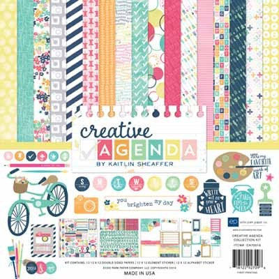 Creative Agenda Collection Kit - Shop and Crop Scrapbooking