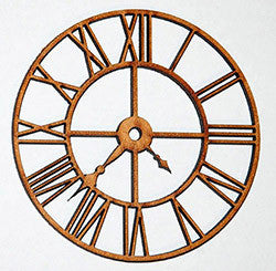 MDF Clock MDF005 - Shop and Crop Scrapbooking